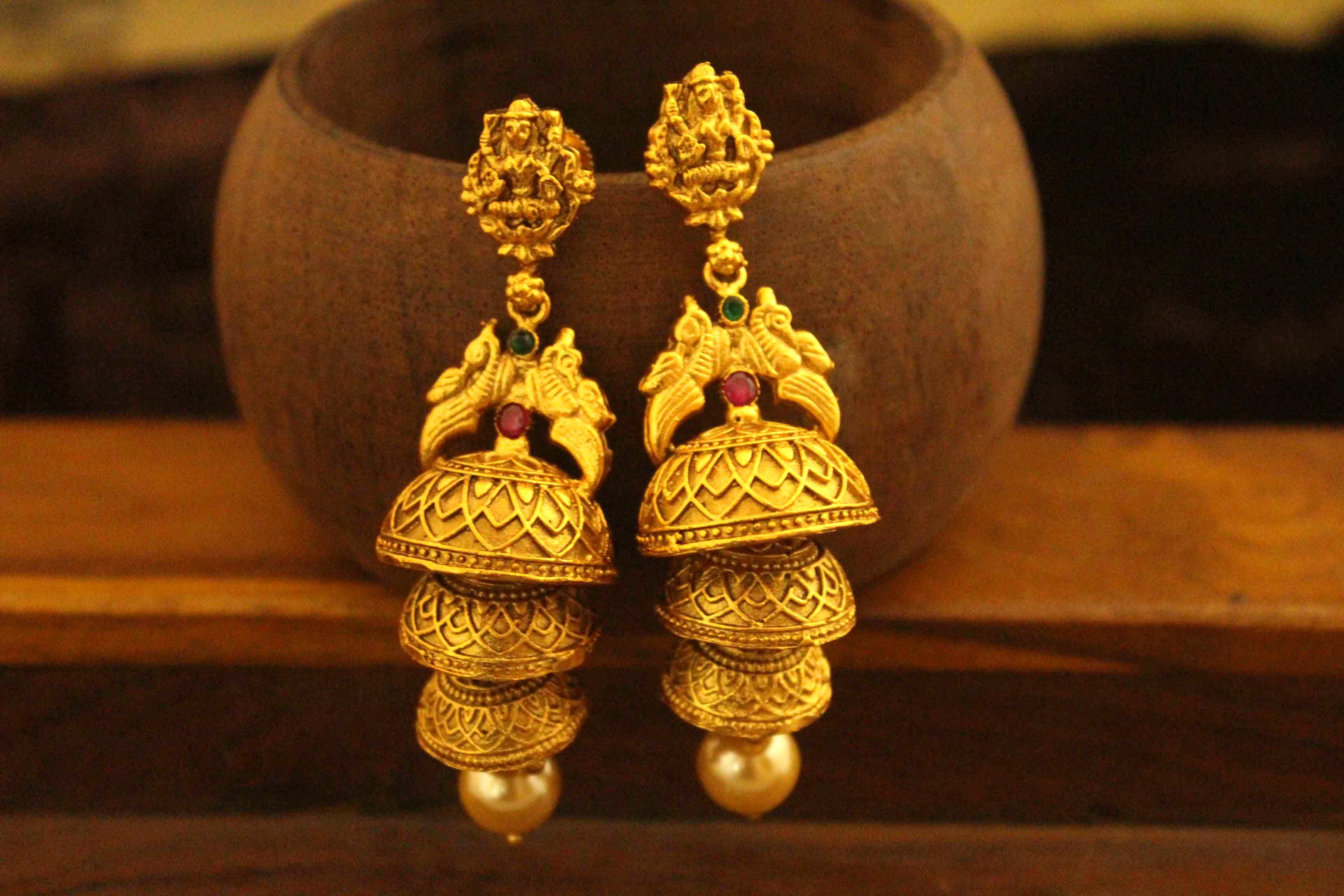 Zumar Jhumka Earrings