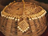 bandi indian designer forehead jewelry